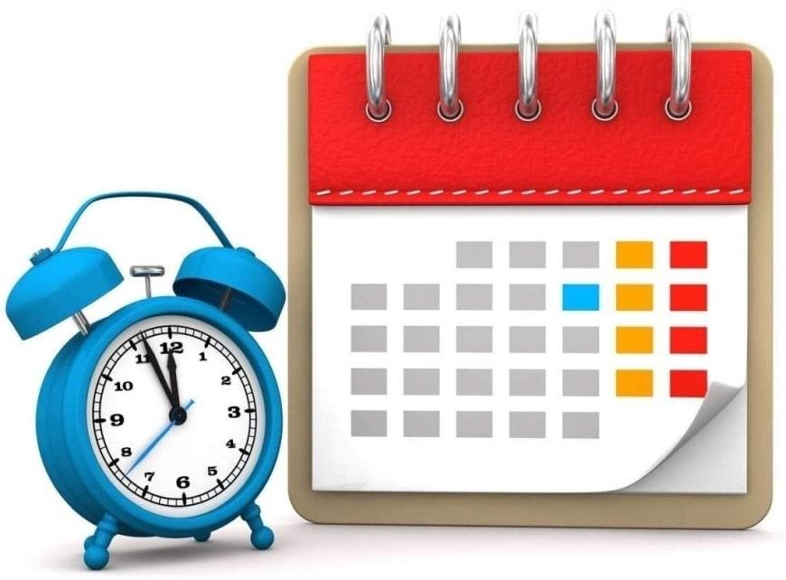 Баланс рабочего времени на 2021 год