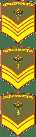 Воинские звания в Вооружённых Силах Республики Казахстан